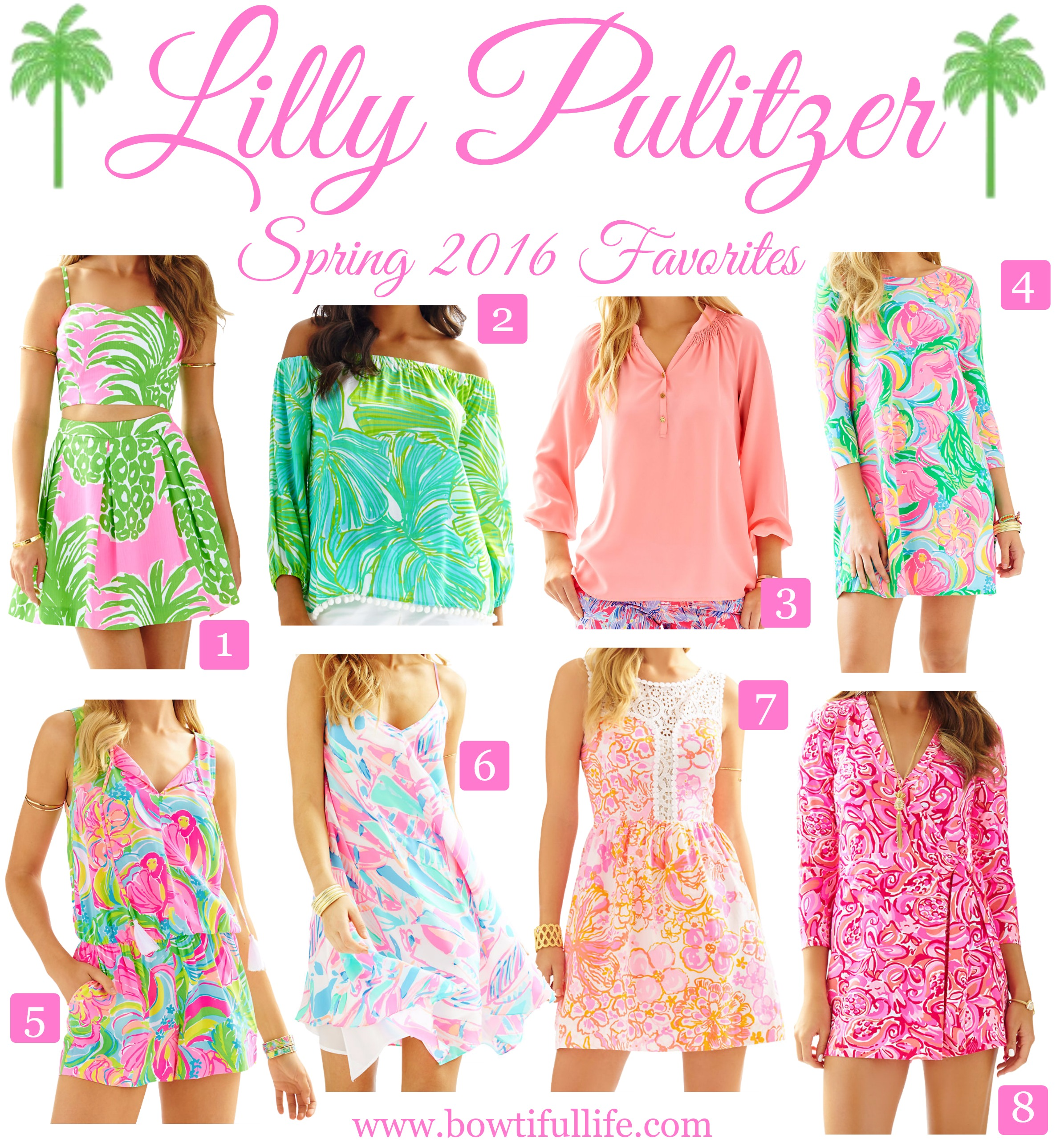 8 Musthaves From Lilly Pulitzer's Spring '16 Collection  Bowtiful Life