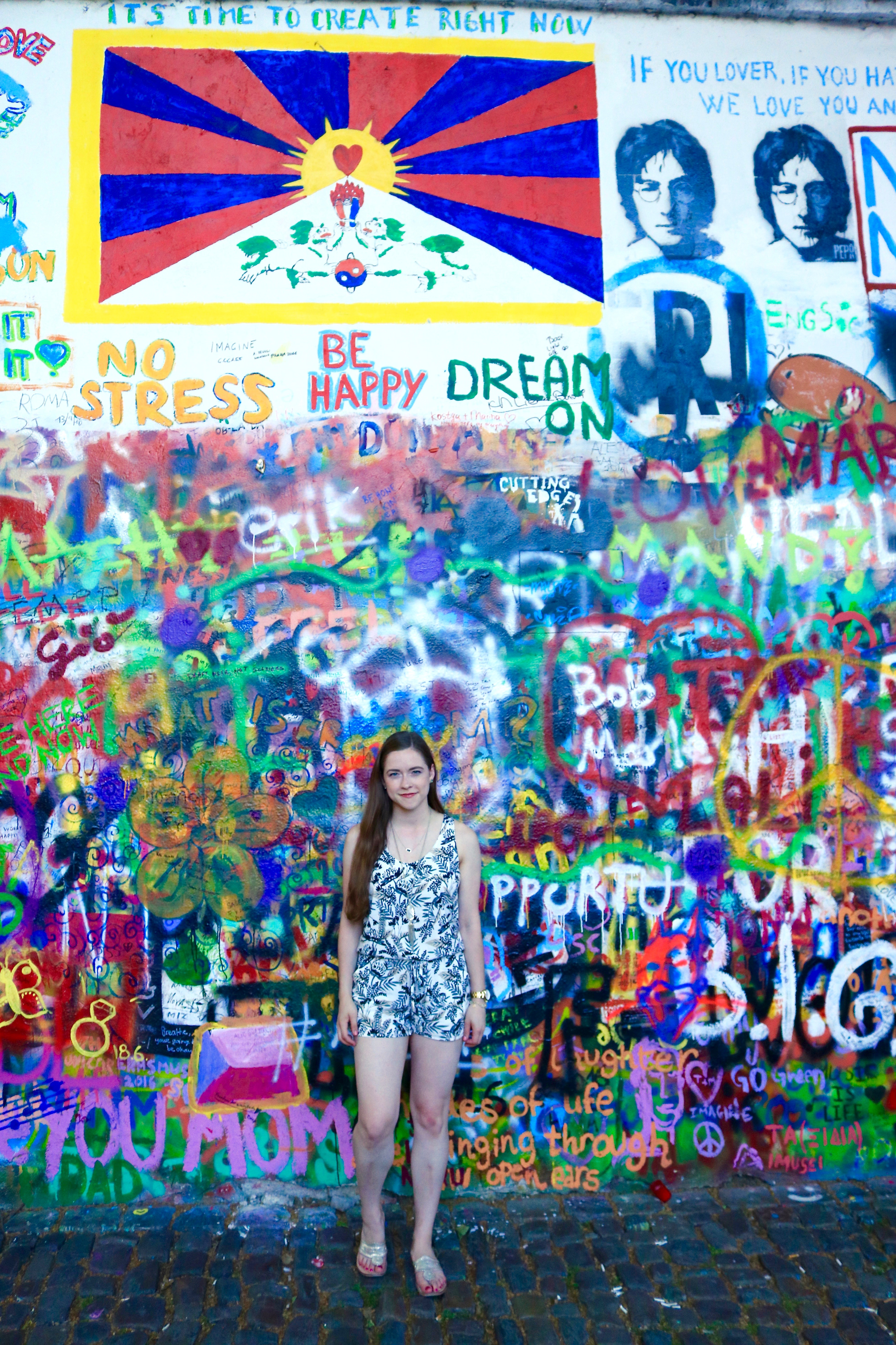 Lennon Wall Prague bowtifullife.com 2